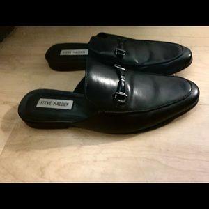 Steve Madden Mule Black Shoes